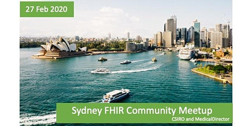 Sydney FHIR  Community Meet-up