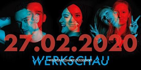 MD.H DÜSSELDORF WERKSCHAU 2020 IM WELTKUNSTZIMMER tickets