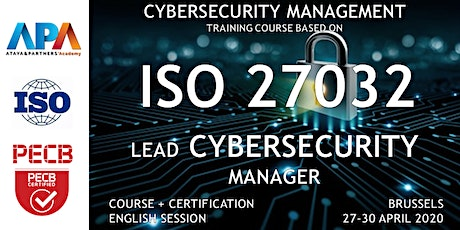 ISO/IEC 27032 Lead Cybersecurity Manager Course and Certification billets