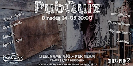 PubQuiz | Old Dutch | Maart tickets