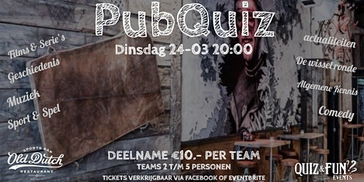PubQuiz | Old Dutch | Maart
