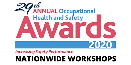 Safety Awards Workshop 2020 - Waterford [21 January 2020] tickets