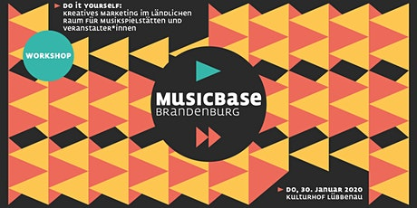Kreatives Marketing im ländl. Raum für Musikspielstätten+Veranstalter*innen Tickets