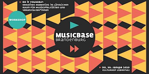 Kreatives Marketing im ländl. Raum für Musikspielstätten+Veranstalter*innen