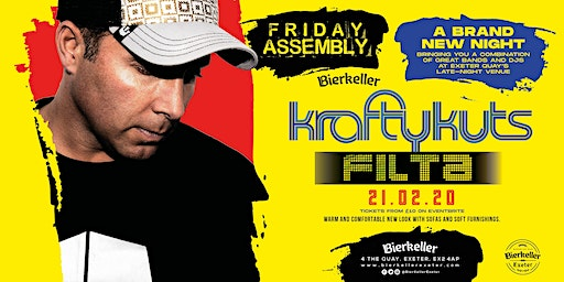 Friday Assembly with KraftyKuts and Filta