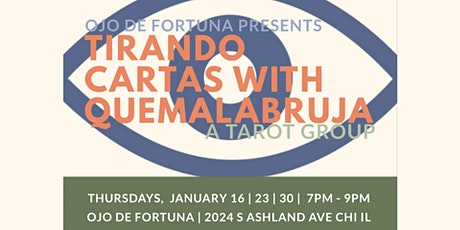 Tirando Cartas with QueMalaBruja; A Tarot Group. tickets