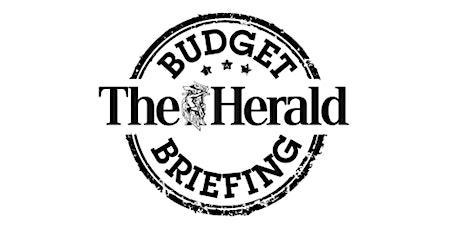 The Herald Budget Briefing Breakfast tickets
