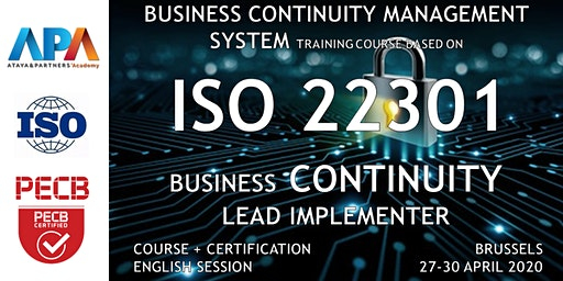 ISO/IEC 22301 Business Continuity - Lead Implementer Course and Certifif.