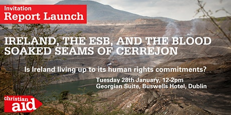 Report launch: Ireland, the ESB, and the Blood Soaked Seams of Cerrejon tickets