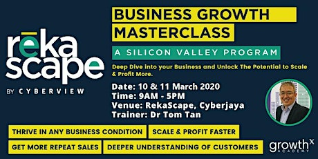 Business Growth: A Silicon Valley Program tickets