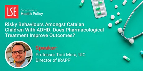 Seminar Series - Risky Behaviours Amongst Catalan Children with ADHD tickets