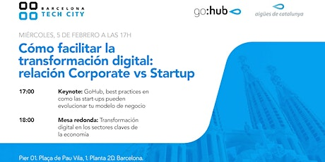Cómo facilitar la transformación digital: relación Corporate vs Startup entradas