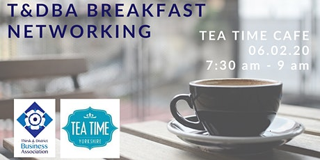 T&DBA Breakfast Networking tickets