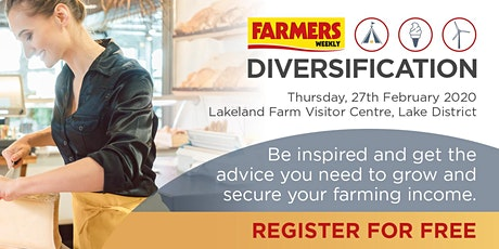 Farmers Weekly's Diversification Event tickets