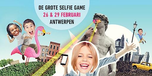 Grote Selfie Game in Antwerpen