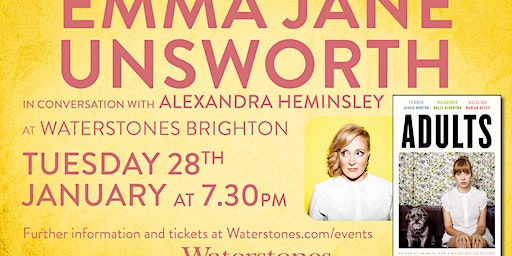 An Evening with Emma Jane Unsworth at Brighton Waterstones