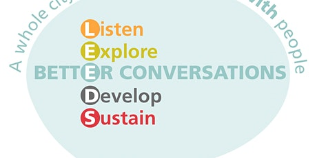 Better Conversations skills day -  Thursday 30th  April 2020 tickets
