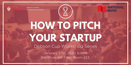 How to pitch your startup billets
