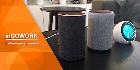 Podcast e Smart Speaker biglietti