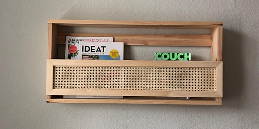 DIY-Workshop: Wiener Geflecht Zeitschriftenregal