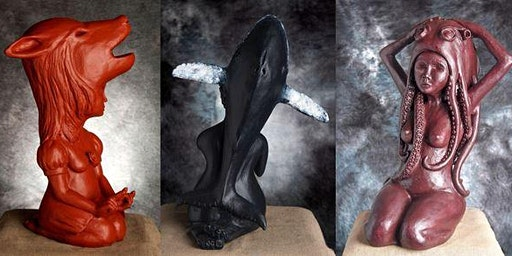 CCPS COURSE IN CLAY - Term 1 2020 - Rachel Bunney - Figurative Sculpture - Beginners - Fridays 10:00am - 12:30pm - 4 Weeks