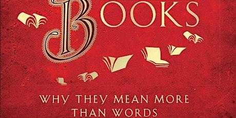 The Secret Life of Books with Professor Tom Mole tickets