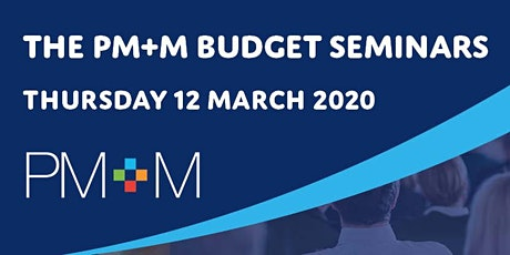 The PM+M Budget seminar - Bury tickets