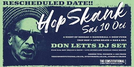 Hop Skank Oct - Don Letts DJ Set  tickets