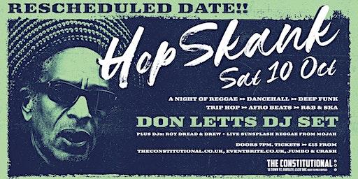 Hop Skank Oct - Don Letts DJ Set