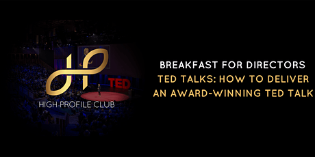 TED Talks: How To Deliver An Award-Winning TED Talk tickets