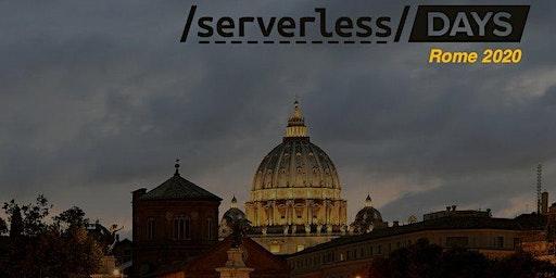 ServerlessDays Rome 2020