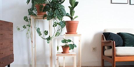 DIY-Workshop: Pflanzenständer 3 Größen Tickets