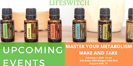 MASTER YOUR METABOLISM MAKE AND TAKE tickets