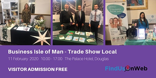 Find Us On Web Business Isle of Man - Trade Show Local
