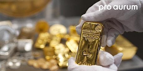 """25.04.2020 Goldhausführung & Vortrag: """"Vermögenssicherung mit GOLD und SILBER"""". Tickets"""