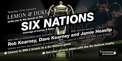 6 Nations Coverage Launch Event