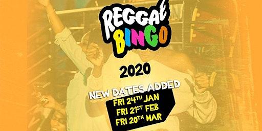 REGGAE BINGO LONDON - FRI 20TH MAR