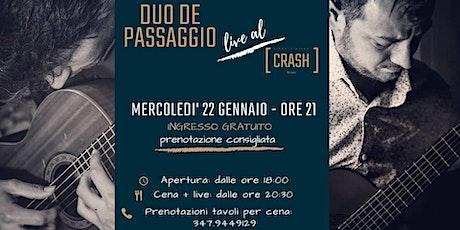 CRASH [Classic] // Duo De Passaggio live al Crash Roma biglietti