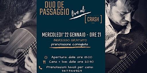 CRASH [Classic] // Duo De Passaggio live al Crash Roma