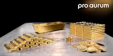 """17.10.2020 Goldhausführung & Vortrag: """"Vermögenssicherung mit GOLD und SILBER"""". Tickets"""