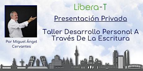 Presentación Privada: Taller Desarrollo Personal A Través De La Escritura entradas