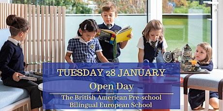 Open Day - Bilingual European School tickets