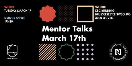 Mentor Talks 2020 tickets