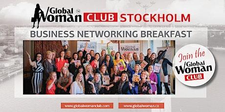 GLOBAL WOMAN CLUB STOCKHOLM: BUSINESS NETWORKING BREAKFAST - MARCH biljetter