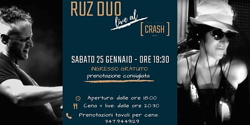 Jazz Do It // Ruz Duo live al Crash Roma