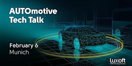 AUTOmotive Tech Talk Munich tickets