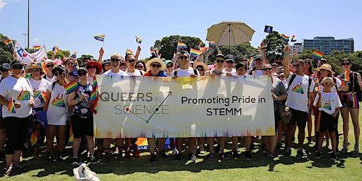 QueersInScience in Midsumma Pride March