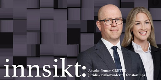 Gratis frokostseminar om GDPR og personvern med advokatfirmaet Grette