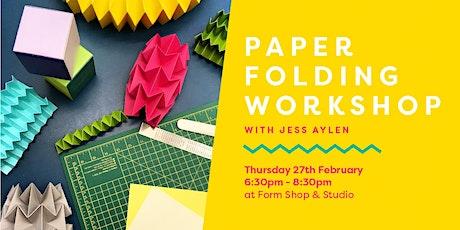 Paper Folding Workshop tickets