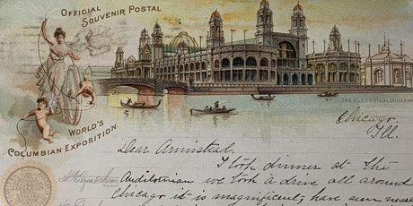 """Britannia Visits the White City"": the Peter family and the World's Columbian Exposition of 1893 tickets"